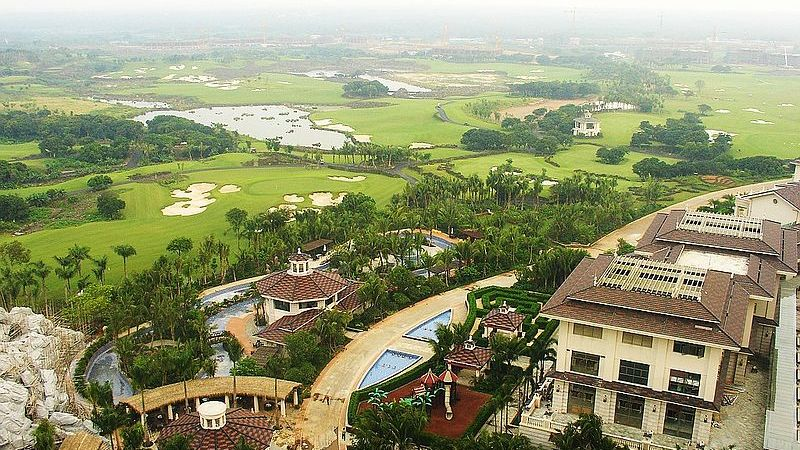 China's tempestuous relationship with golf
