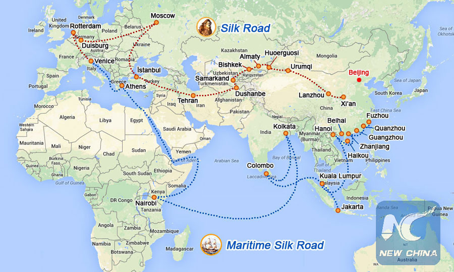 China's Belt and Road initiative.