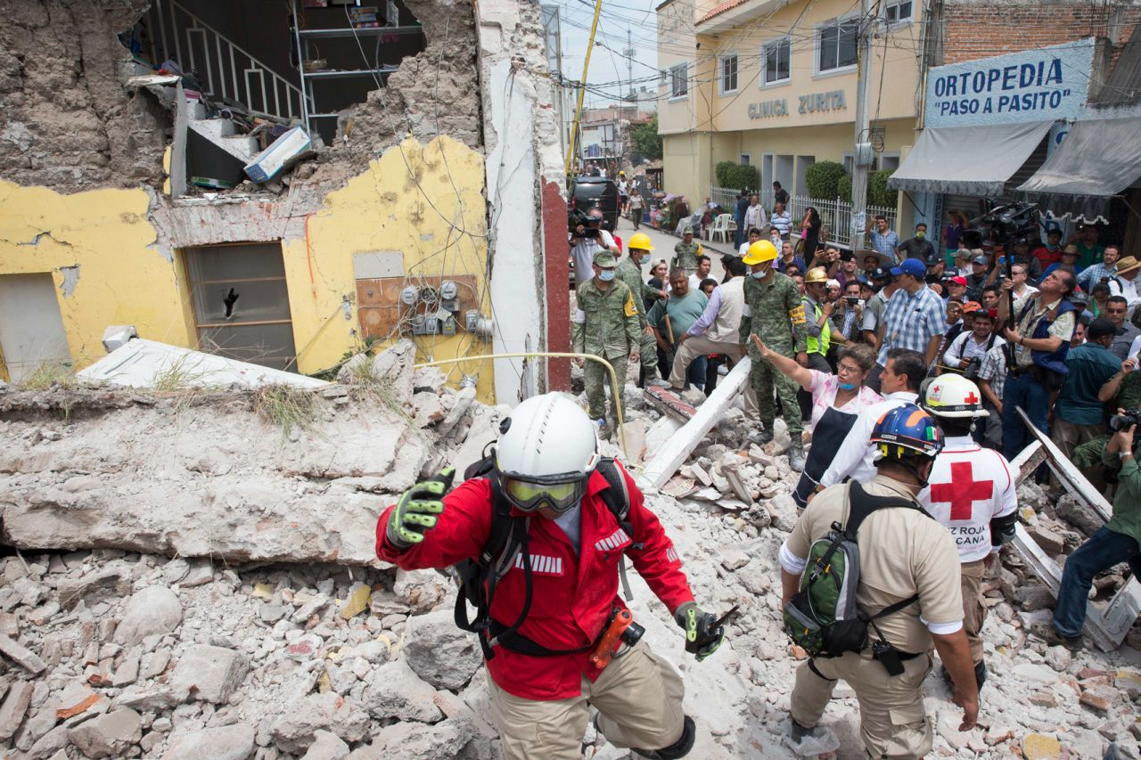 Chinese president sends condolences to Mexican earthquake victims