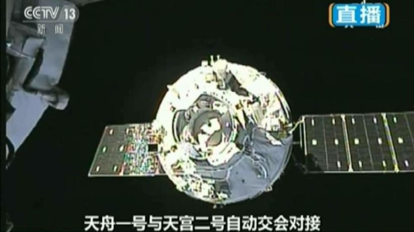 China set to deorbit its Tianzhou-1 cargo spacecraft in next 24 hours