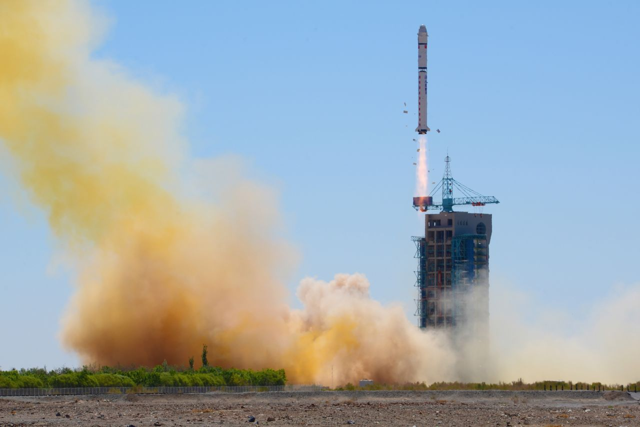 Long March 2D lofts land survey satellite in China's eighth space launch of 2018