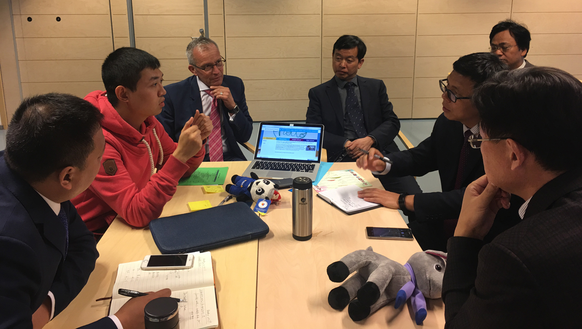 The Tampere forum was also attended by a number of Finnish educators, who discussed education initiatives with the assembled group of Chinese principals.