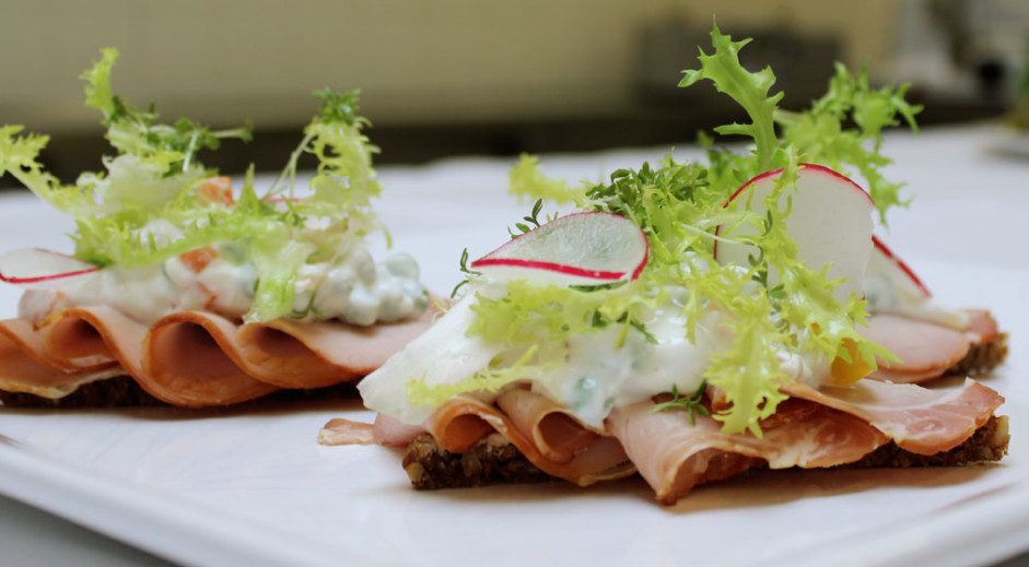 Danish open sandwiches will also be on offer at the Danish bakery in Beijing.
