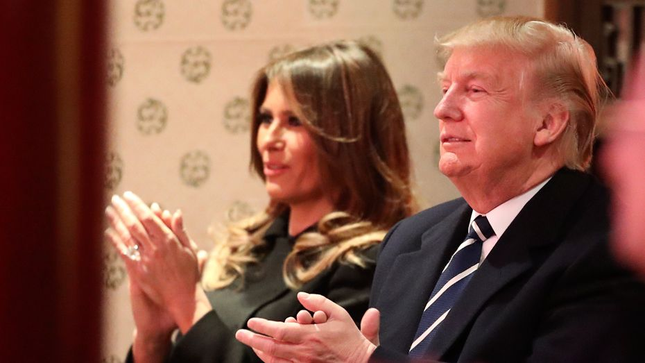 US President Donald Trump and First Lady Melania were invited to watch a Peking opera in the Forbidden City on November 8.