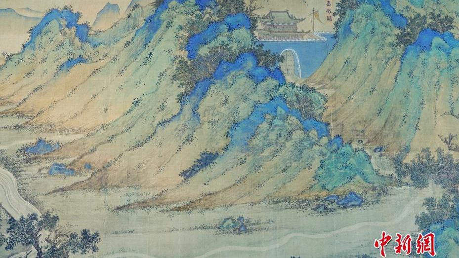 Ancient Silk Road map returns to Forbidden City