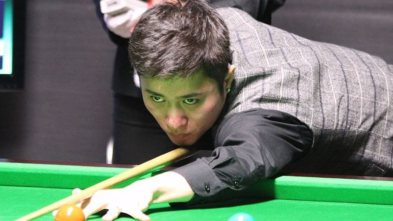 Chinese snooker player hits 147 maximum in Glasgow