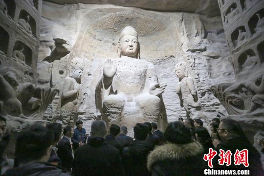 3D-printed ancient Buddhist statues displayed in China