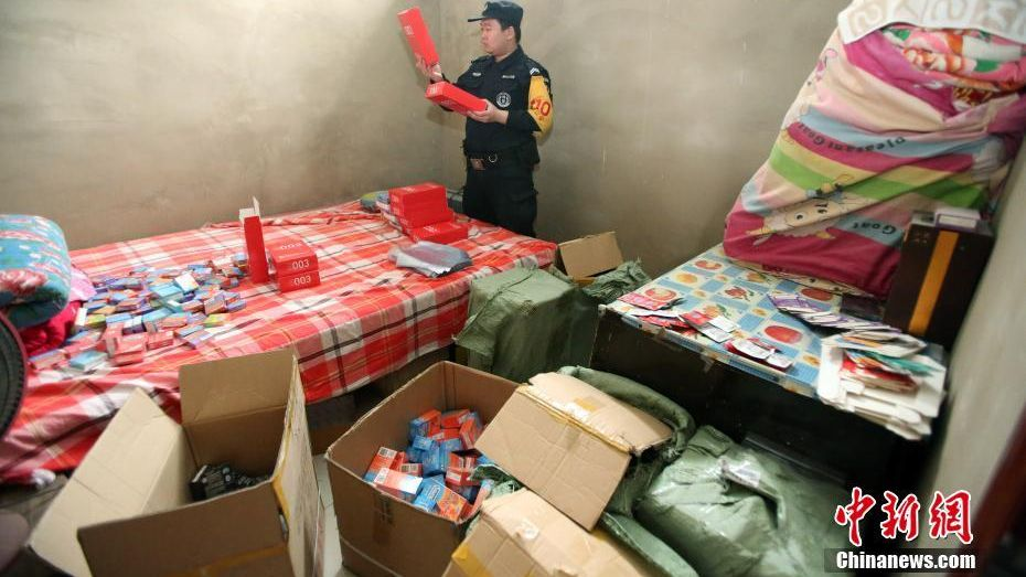 Two underground workshop rings producing millions of counterfeit brand-name condoms, including Durex, Okamoto and Jissbon, have been busted by police in Shanxi Province.