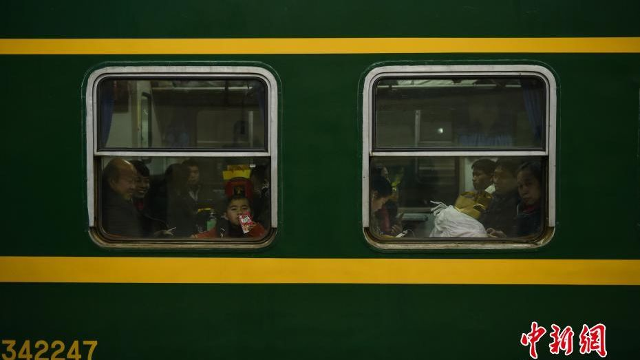Passengers wait for their train to depart and take them home to loved ones.