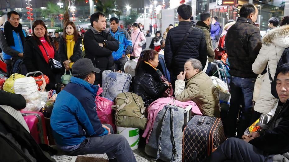Millions of people are expected to travel home to celebrate Chinese New Year with their families.