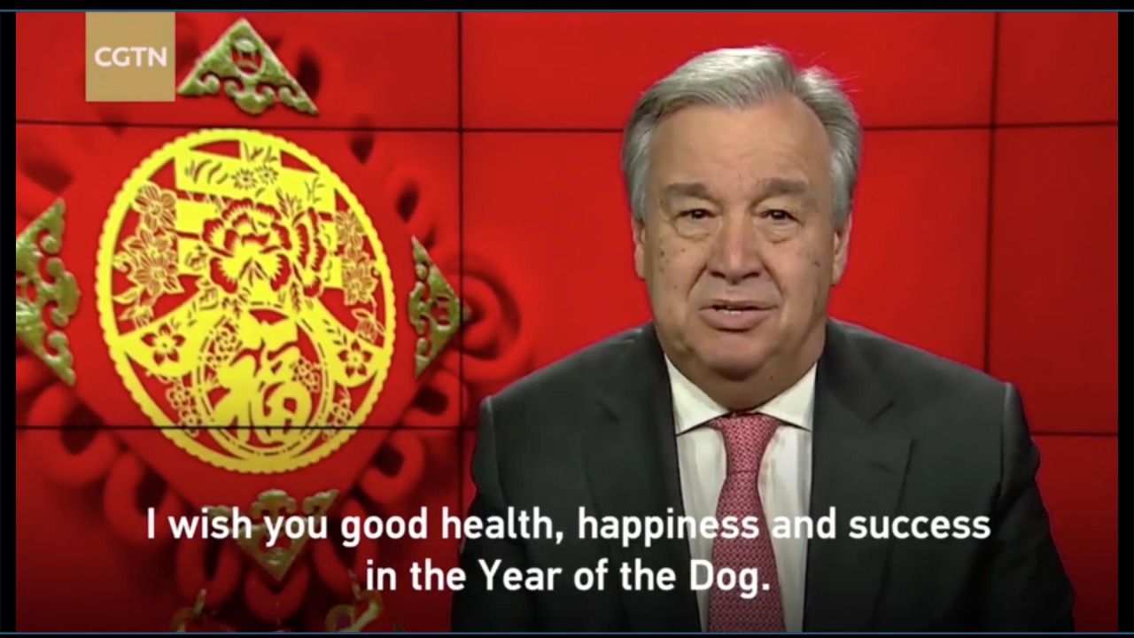 World leaders send warm wishes for the Year of the Dog