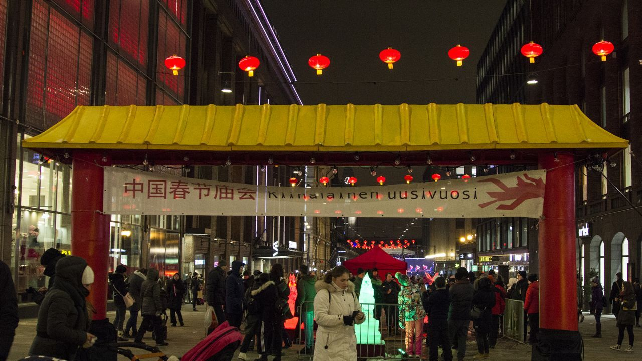 Chinese New Year in Helsinki, Finland