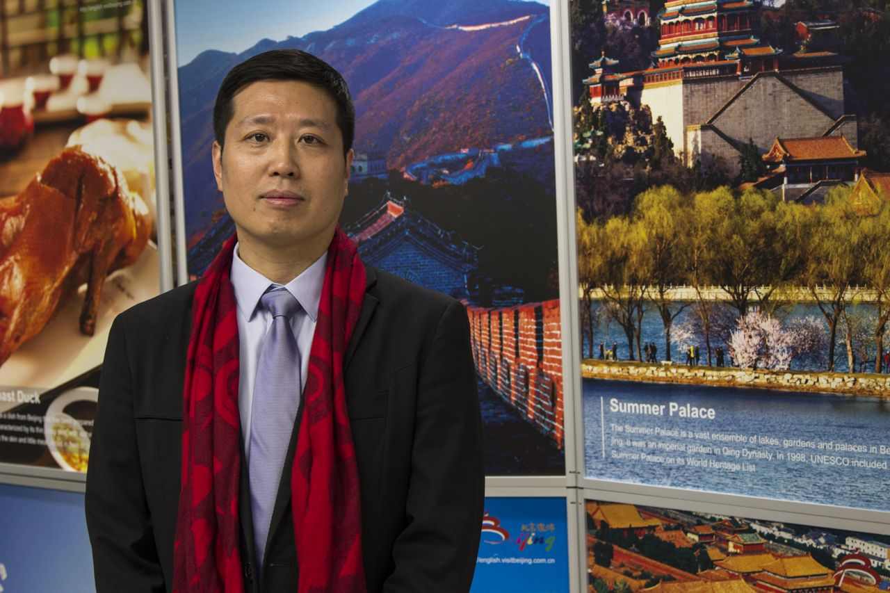 Mr Lin Song, the associate consultant of City Image and Marketing Division of the Beijing Municipal Commission of Tourism Development.