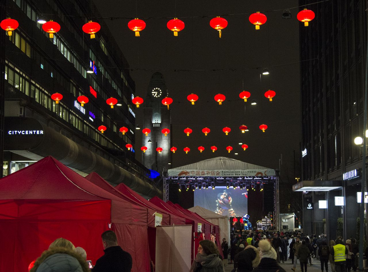 Helsinki welcomes in Chinese New Year 2018