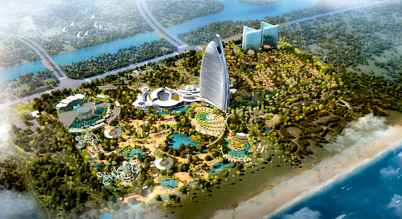 China S First Atlantis Resort Opens In Tropical Sanya