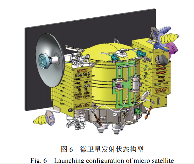 Launch configuration of the Chang'e-4 DSLWP microsatellites.