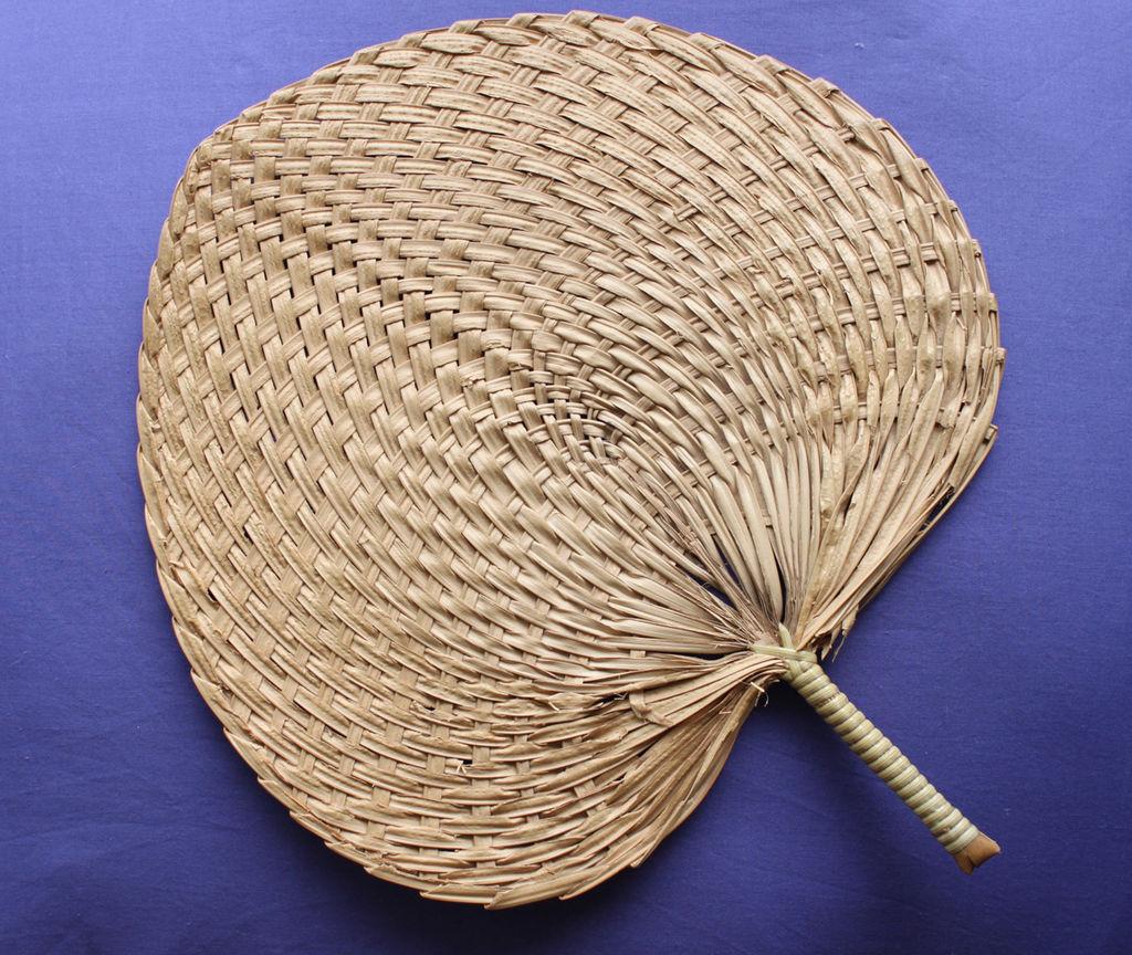 chinese palm frond fan