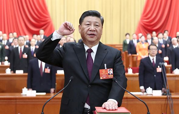 Xi Jinping unanimously elected Chinese president, CMC chairman