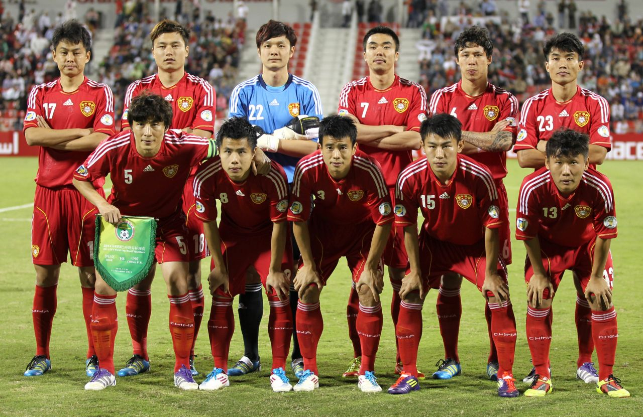 The Chinese national football team has failed to qualify for the past four World Cups.