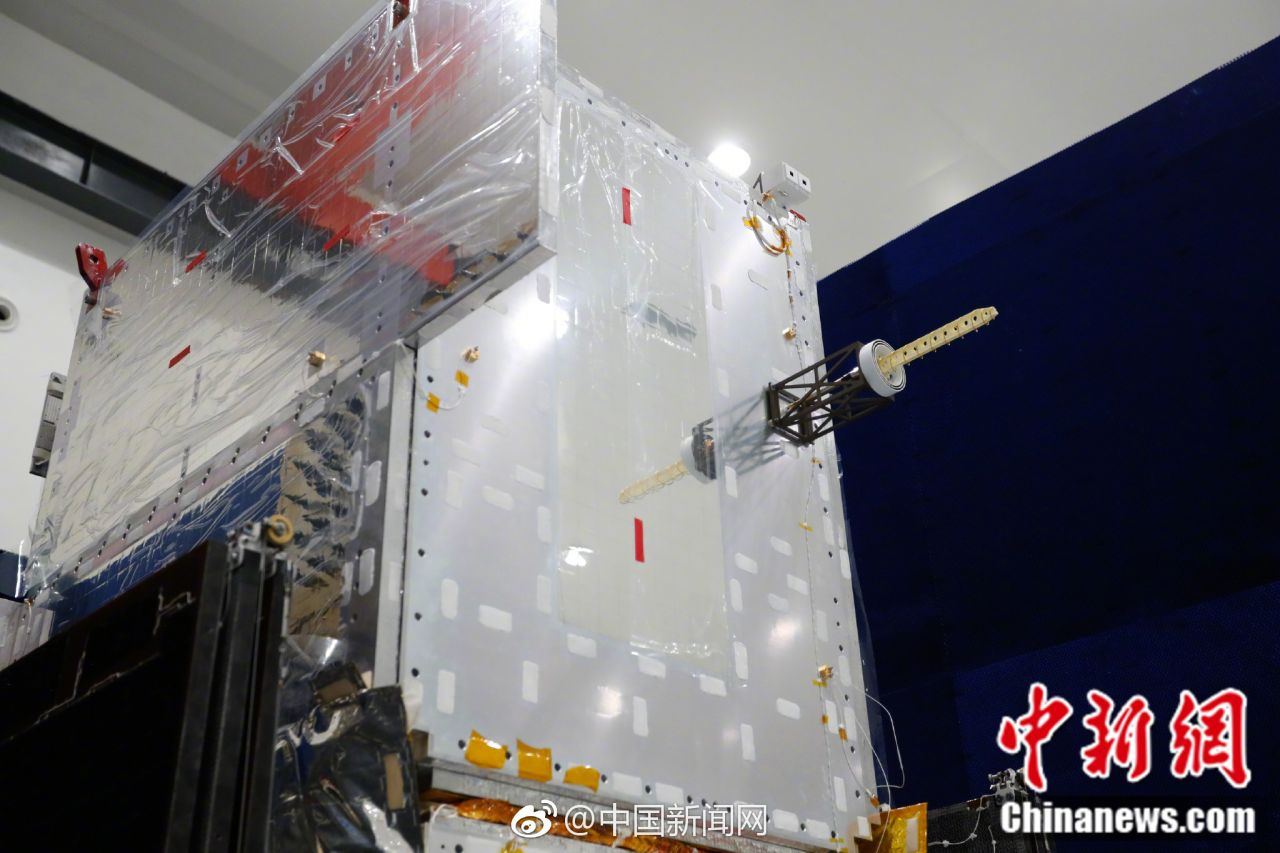 A Beidou-3 positioning and navigation satellite, to be launched into medium Earth orbit.