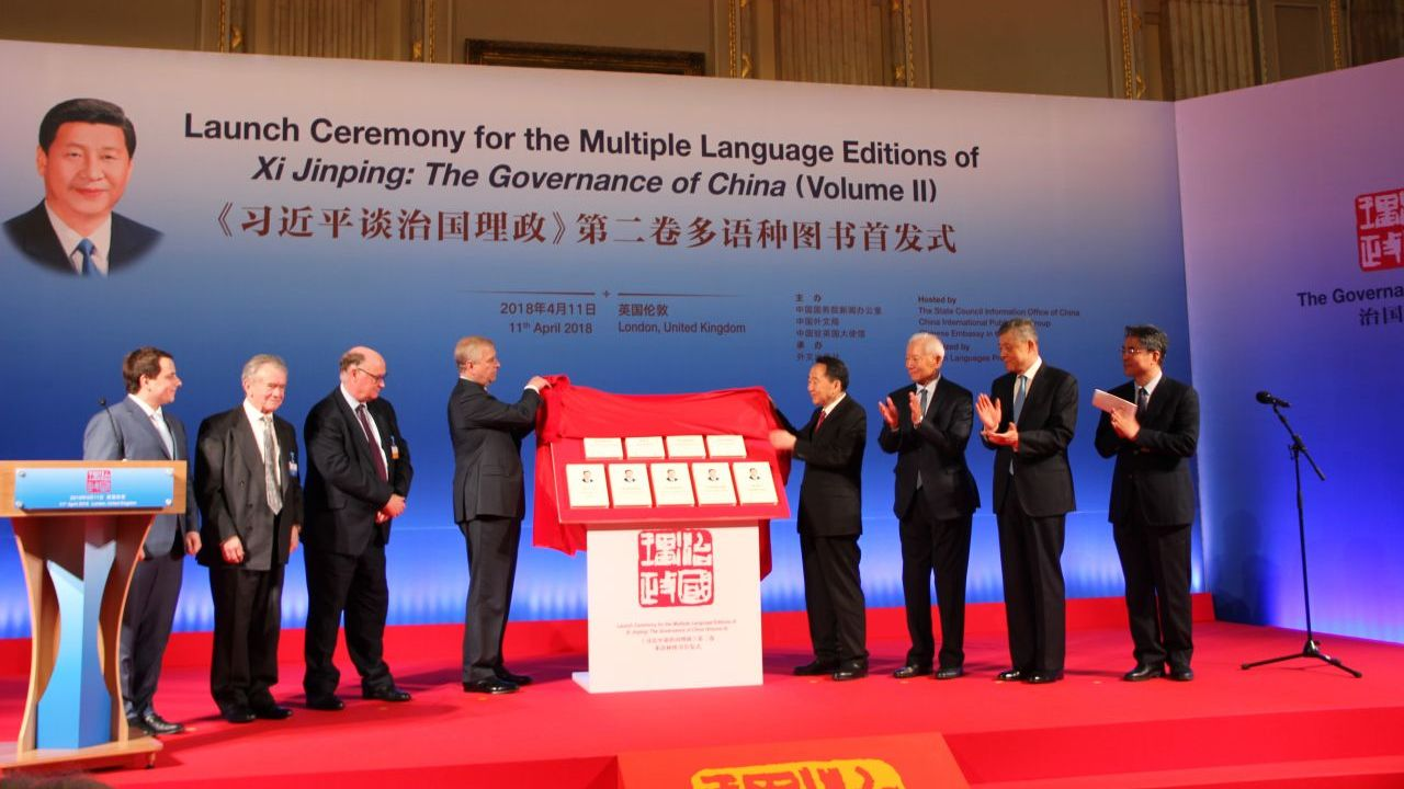 Second volume of Xi Jinping's book launched in eight foreign languages