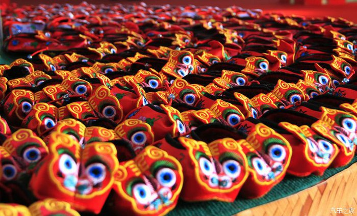 red tiger qingyang xiangbao incense pouches
