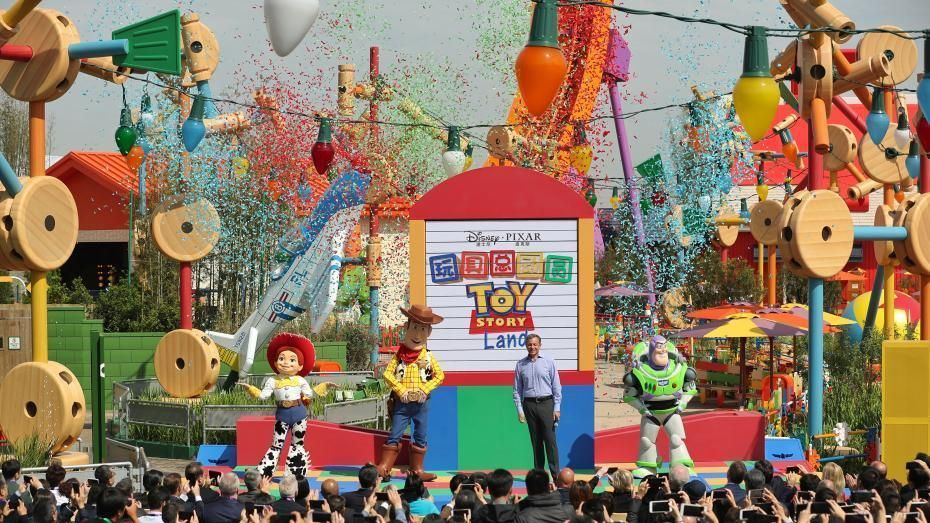 Shanghai Disney Resort opened its seventh themed area- the Toy Story Land- on Thursday.