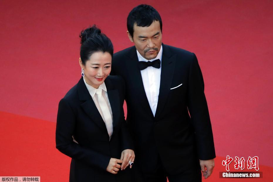 Zhao Tao and Liao Fan at the Cannes Film Festival.