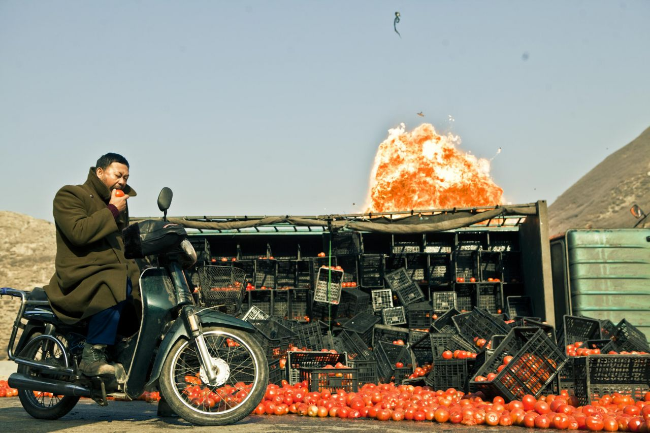 Still from the film Touch of Sin by Jia Zhangke.
