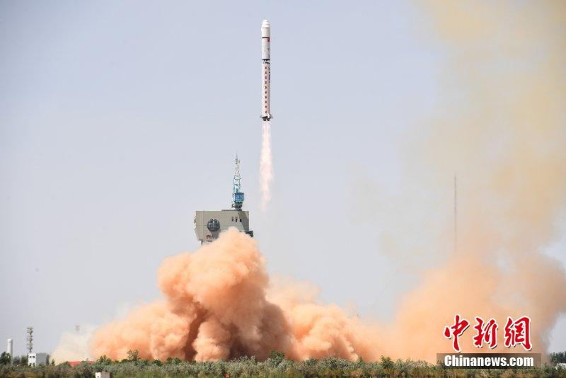 A Long March 2D carries a Gaofen-6 remote sensing satellite and the Luojia-1 CubeSat into a Sun-synchronous orbit from Jiuquan on June 2, 2018.