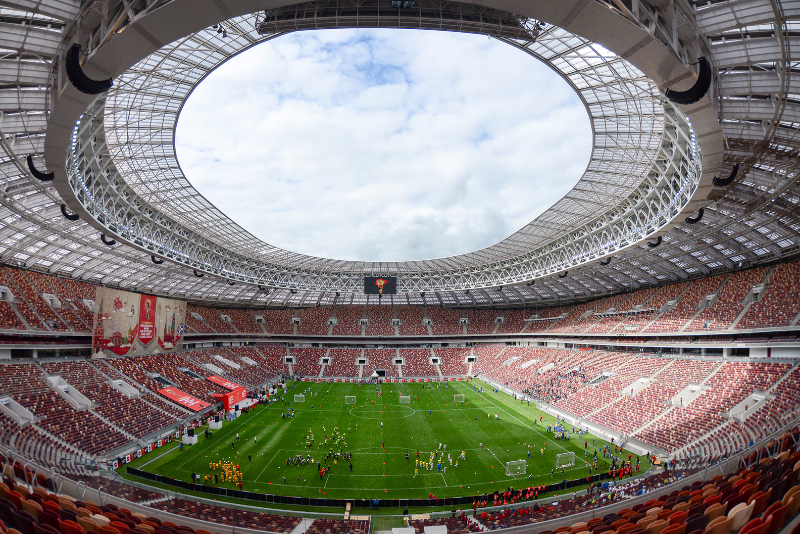 Moscow's Luzhniki Stadium will host the 2018 FIFA World Cup final on July 15.