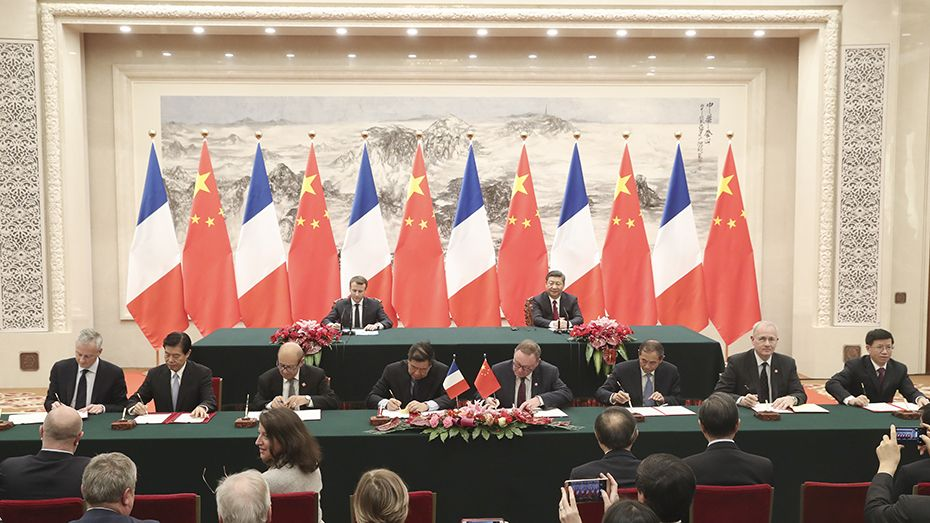 French prime minister to visit China to discuss trade