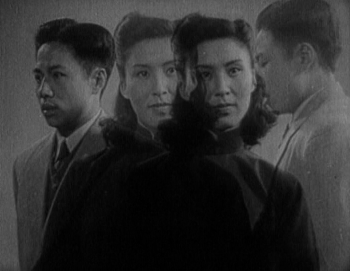 Usage of fades in Fei Mu's film Spring in a Small Town