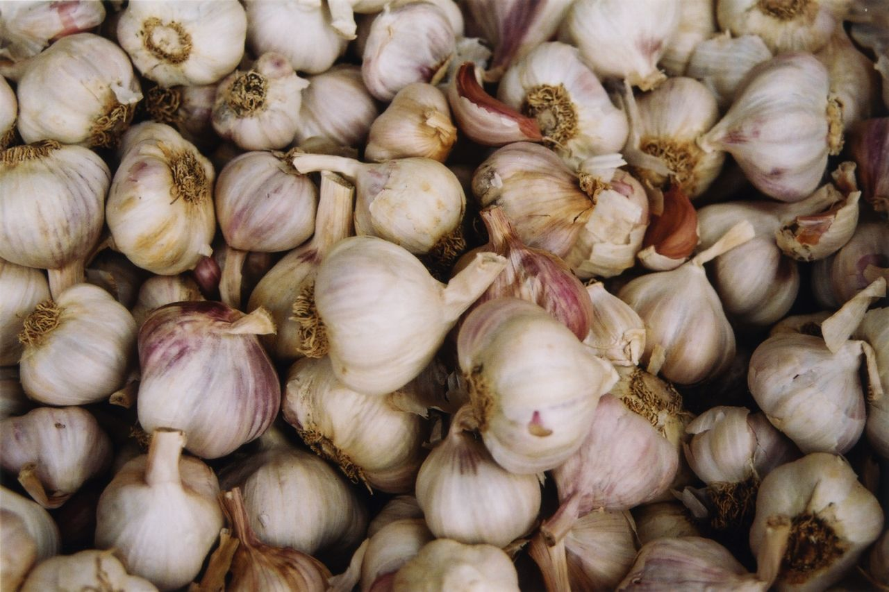 Garlic is one of the three pillars of Chinese cooking.