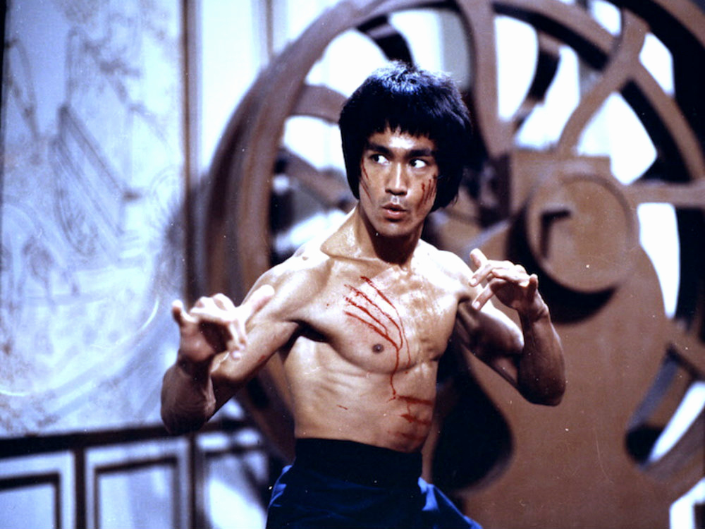 Bruce Lee in the 1973 film Enter the Dragon