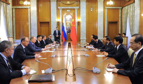 Russia ready to strengthen bilateral ties with China, says Putin