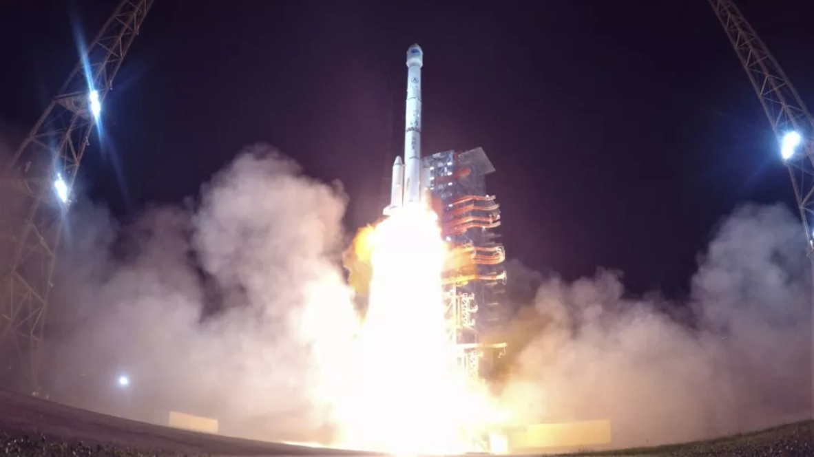 China lofts pair of Beidou navigation satellites with 25th space launch of 2018