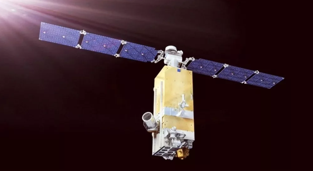 A render of the Centispace-1-S1 satellite.