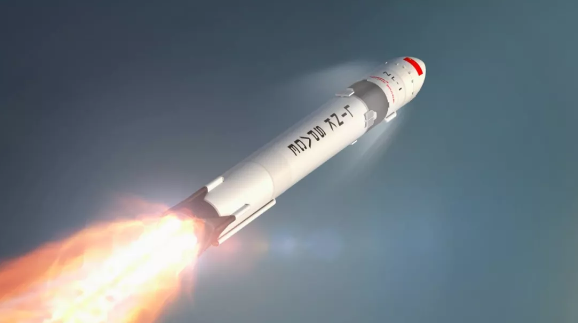 Render of a NewLine-1 rocket under development by Linkspace.