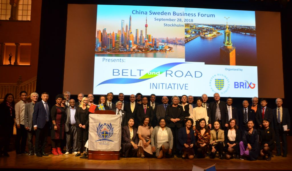 China-Sweden Belt and Road business forum held in Stockholm