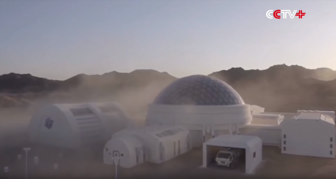 A first look at China's Mars simulation base out in the Gobi Desert