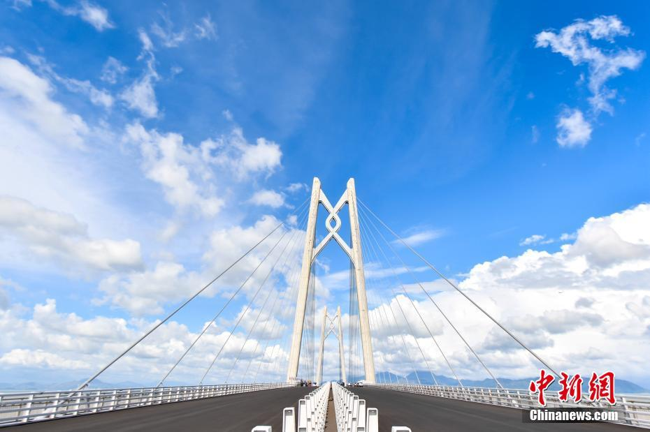 World's longest sea-crossing bridge officially opens in south China