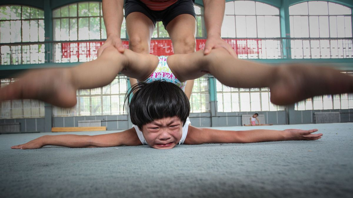 "Chinese photographer Yuan Peng received a remarkable award in the Sports in action category at the 2018 Siena International Photo Awards for the photo ""A Gymnastic Girl""."