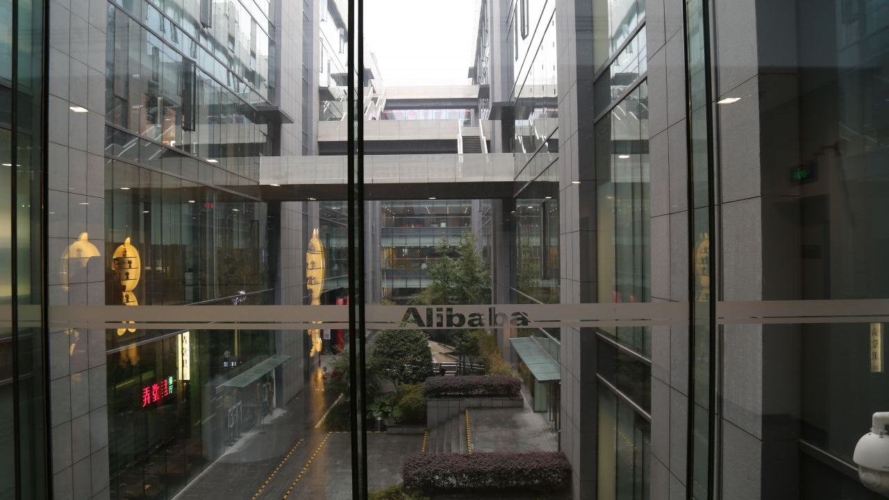 Alibaba's main building is a modern structure that hosts thousands of offices and employees.