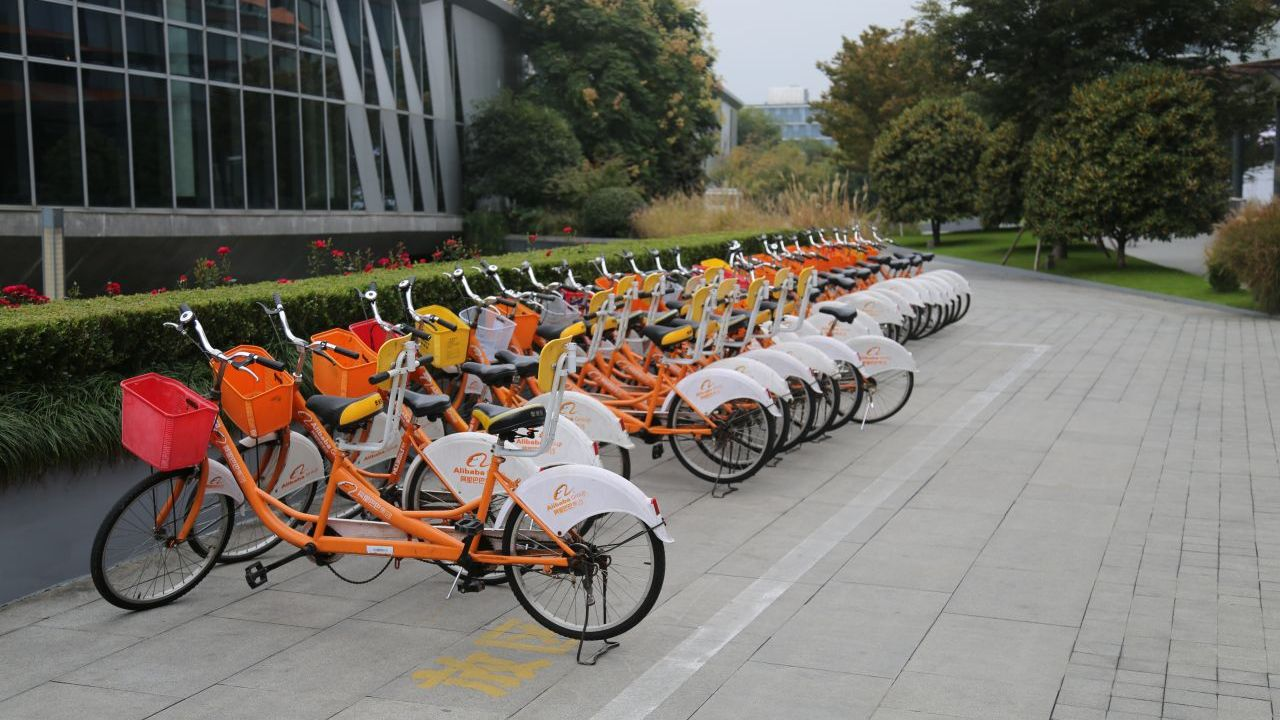 Alibaba was the first company to offer shared bikes - a concept that is now a worldwide phenomenon.