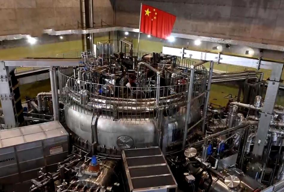 China's artificial sun reaches 100 million degrees