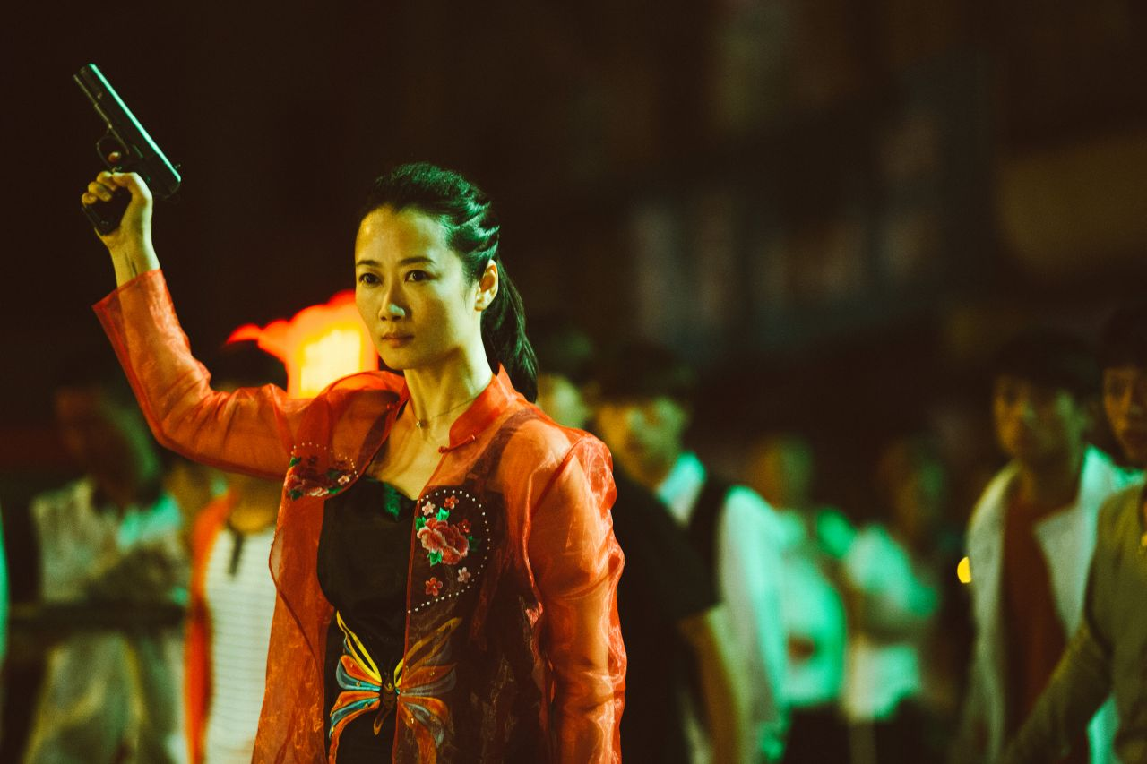 Zhao Tao in the film Ash Is Purest White by Jia Zhangke
