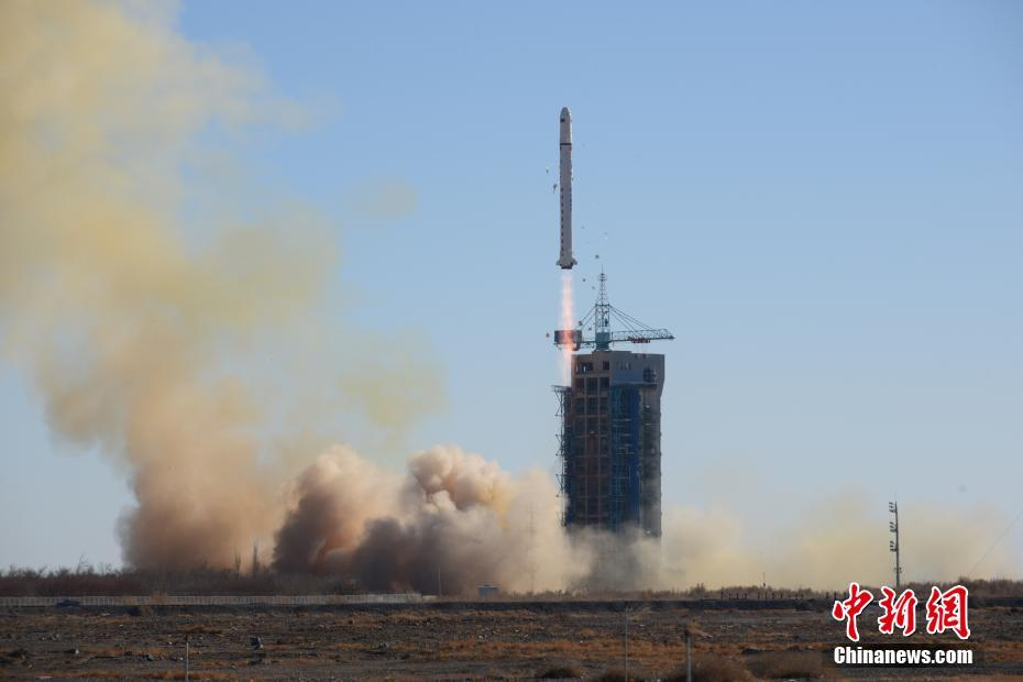 Launch of a Long March 2D carrier rocket from Jiuquan at 04:12 UTC on December 7, 2018, carrying two Saudi satellites and a host of smaller passengers.