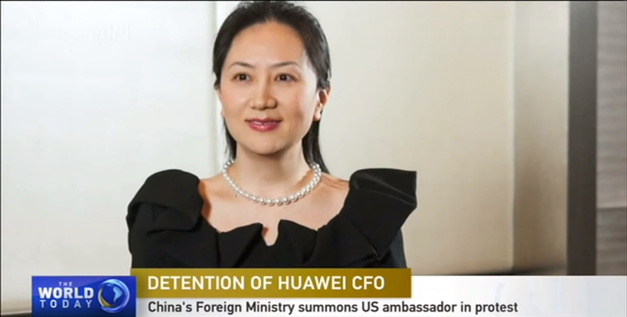 China summons US and Canadian ambassadors over Huawei CFO's arrest