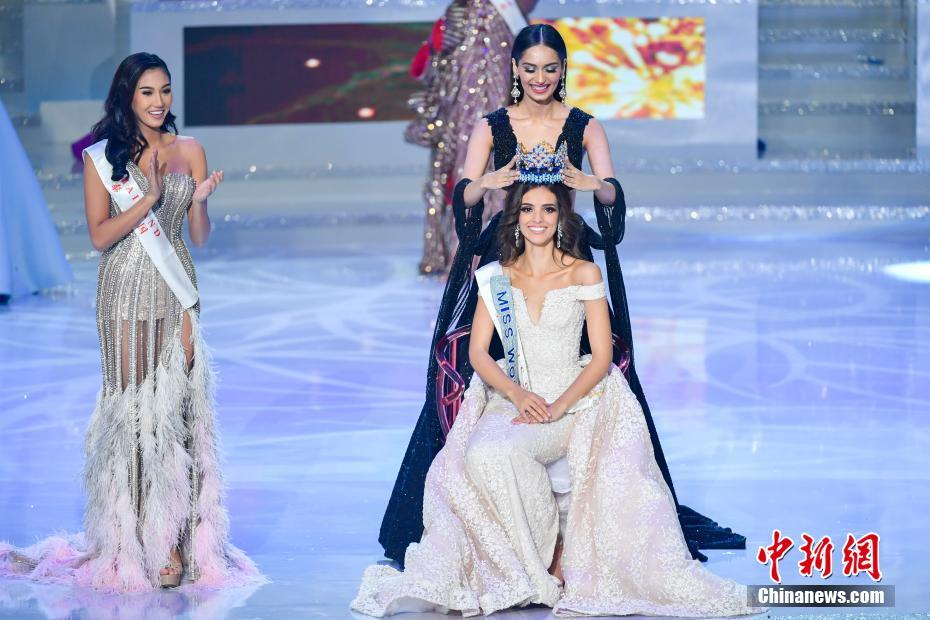 Mexican model wins Miss World 2018 final in China